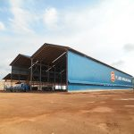 Steelwork Fabrication Covered Workshop